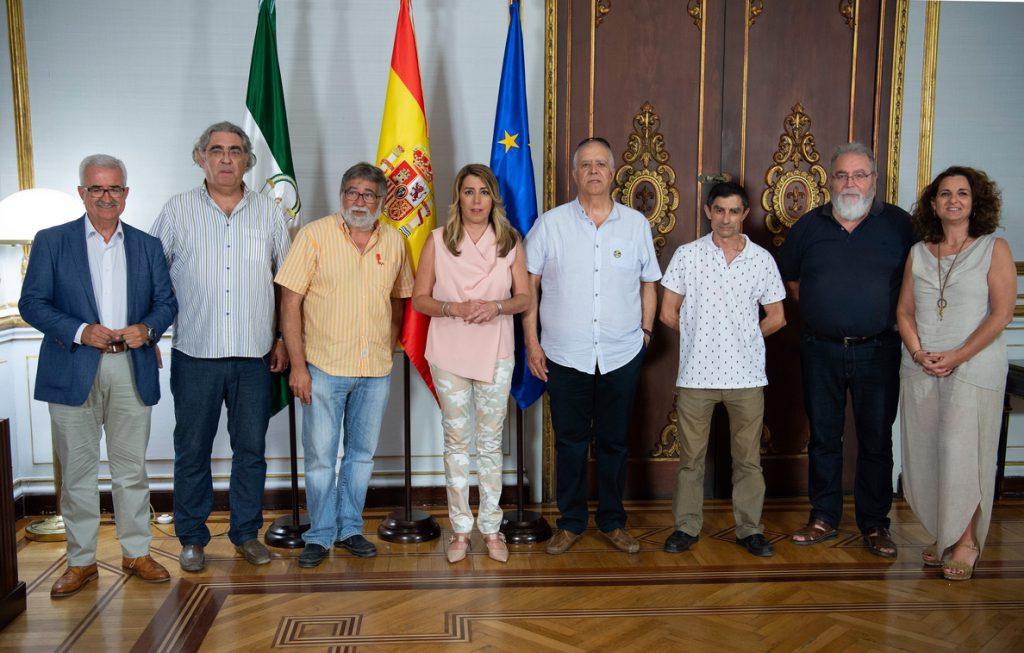 Susana Díaz reclama al Gobierno una solución «cuanto antes» para garantizar el contrato de corbetas en Navantia