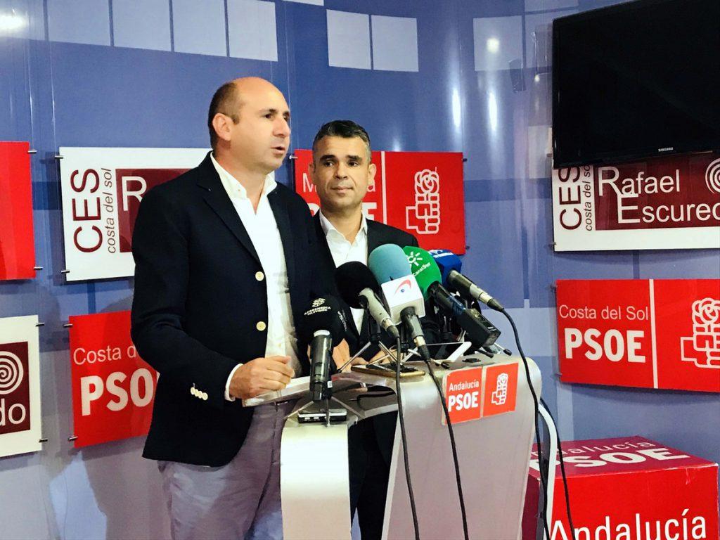 PSOE-A considera que es «una irresponsabilidad» la decisión de Ciudadanos de romper el pacto de gobierno