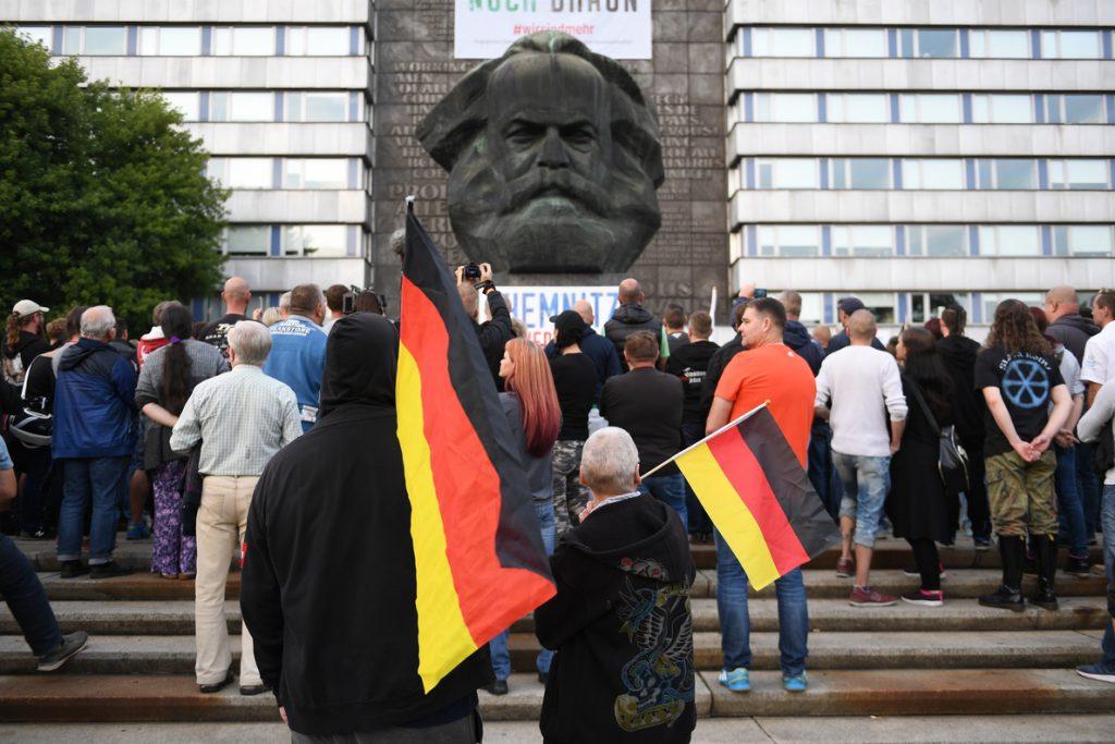 Un restaurante judío fue atacado durante protestas xenófobas de Chemnitz, Alemania