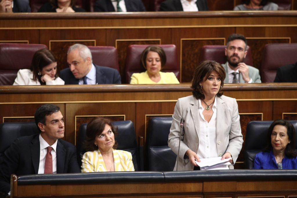 El PP preguntará a la ministra Delgado en el Congreso cuándo piensa dimitir, tras la polémica de la defensa de Llarena