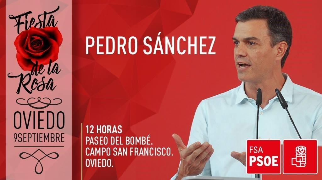 Pedro Sánchez abrirá hoy en Oviedo una campaña de reivindicación de los logros de su Gobierno