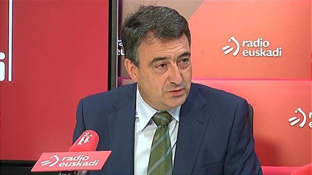 PNV, «sorprendido» porque Podemos «sea tan posibilista» con Sánchez en los PGE y tan «intransigente» en Euskadi