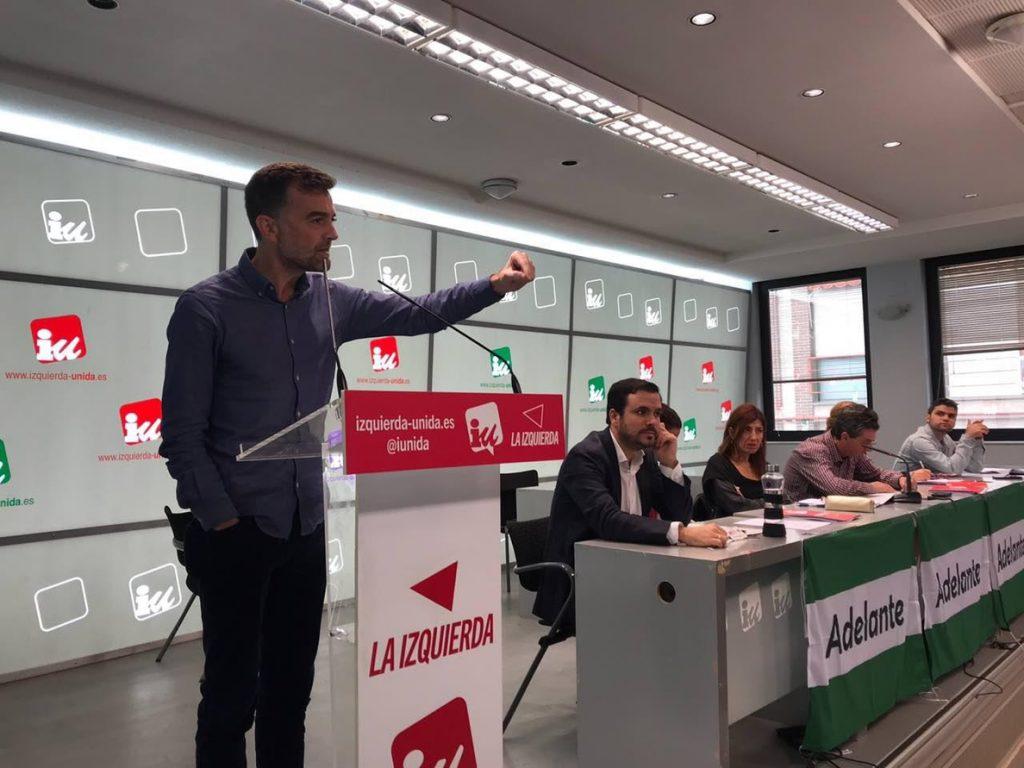 Maíllo: «Adelante Andalucía defenderá la redistribución de riqueza» frente a quienes ven la región como «su cortijo»