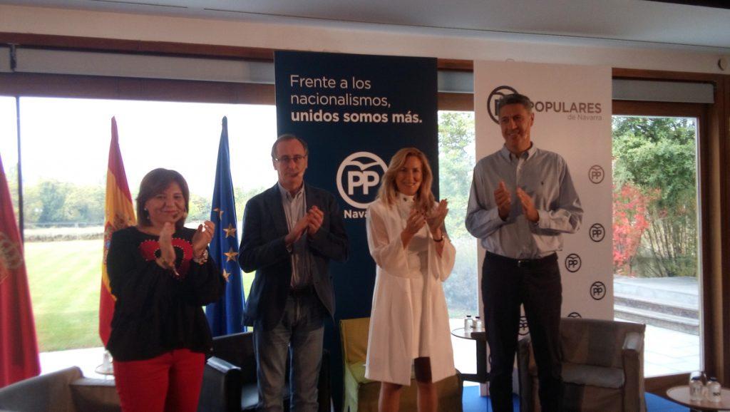 Presidentes autonómicos del PP advierten en Pamplona sobre «los peligros y amenazas» del nacionalismo