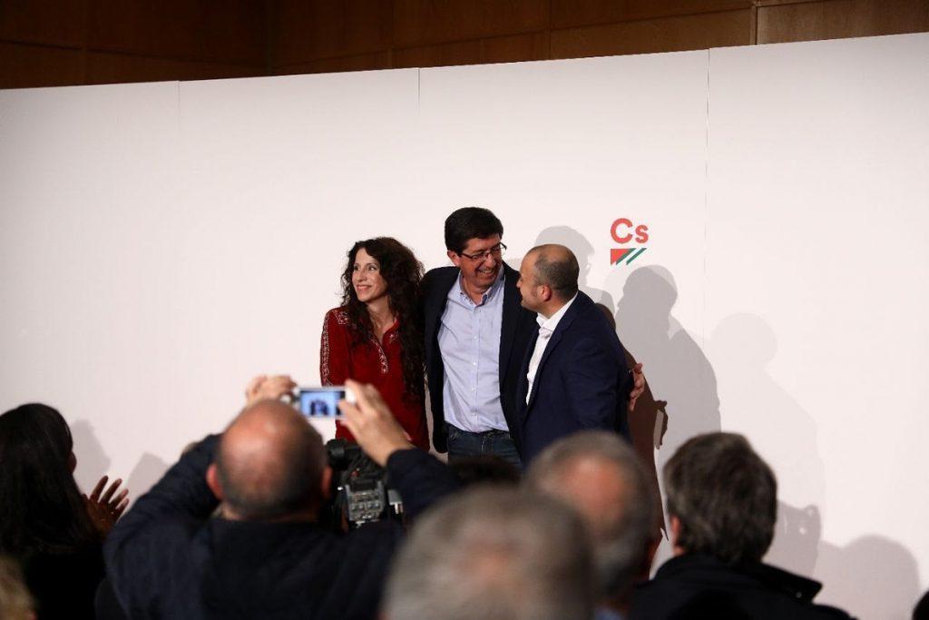 Marín «no se conforma con ganar al PP» y sale a ganar al PSOE y devolver Andalucía a los andaluces