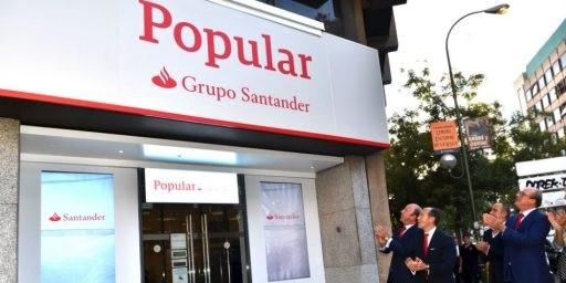 (AMP) Santander y sindicatos firman un protocolo para una reestructuración no traumática de plantilla