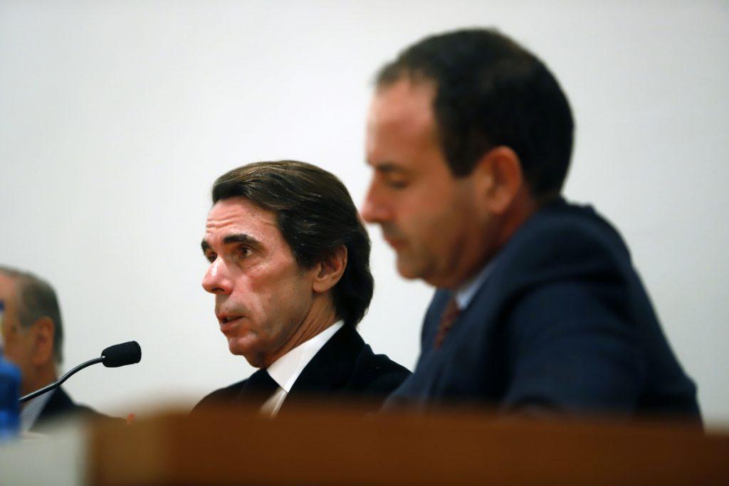 Aznar advierte de que la situación política de España con el actual Ejecutivo «es radicalmente indeseable»