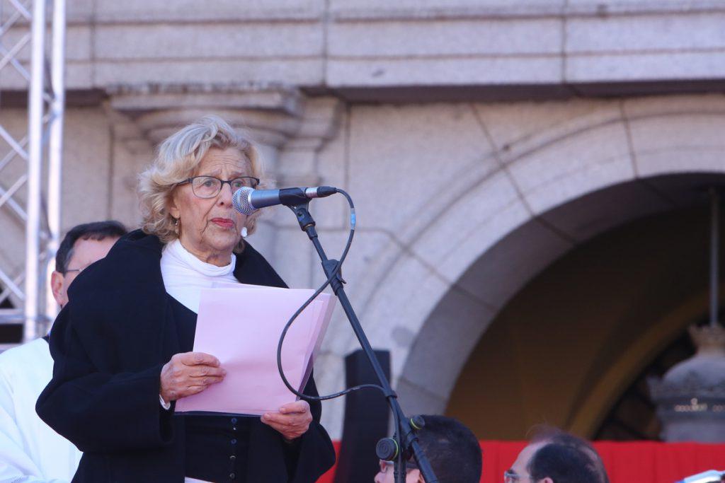 Carmena no se quedará como jefa de la oposición si no gana las elecciones de mayo de 2019