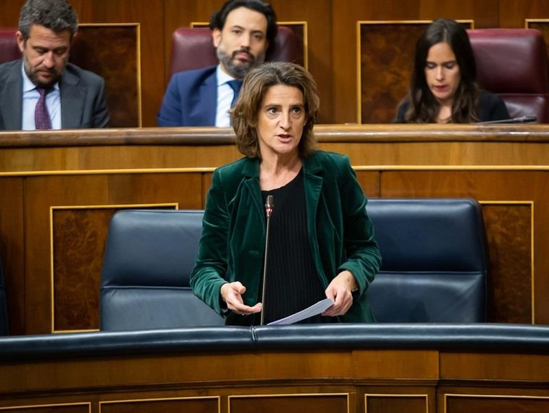 Compromís pide la comparecencia de la ministra Ribera para que explique el «por qué del recorte» del Tajo-Segura