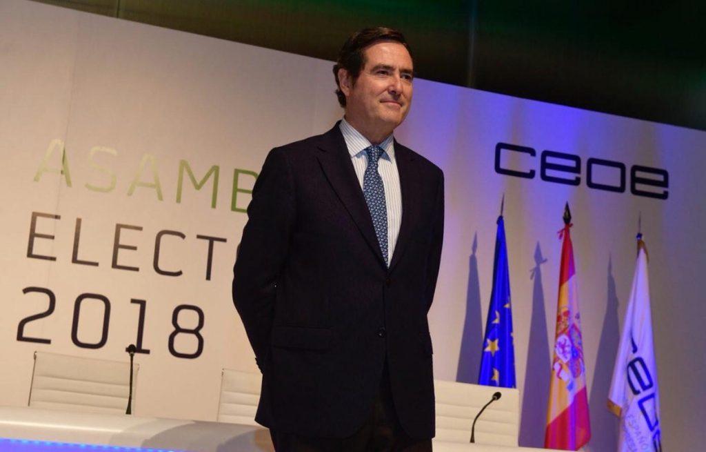 Garamendi dará más peso a la mujer en CEOE y reprocha al Gobierno medidas «unilaterales» como el SMI
