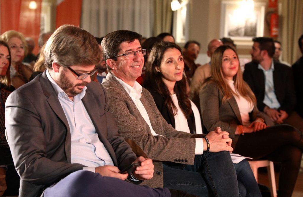 Marín anima a los andaluces a «tener espíritu ganador» y a «no aguantar más 40 años de corrupción»