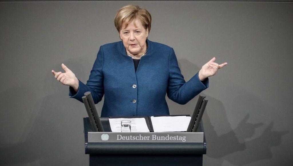 Merkel defiende ante el Bundestag el Pacto sobre Migración de la ONU