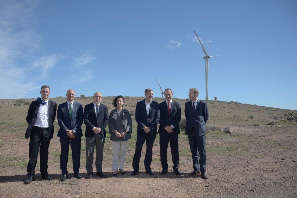 Naturgy impulsa el complejo eólico Agüimes (Gran Canaria) con una inversión de 63 millones