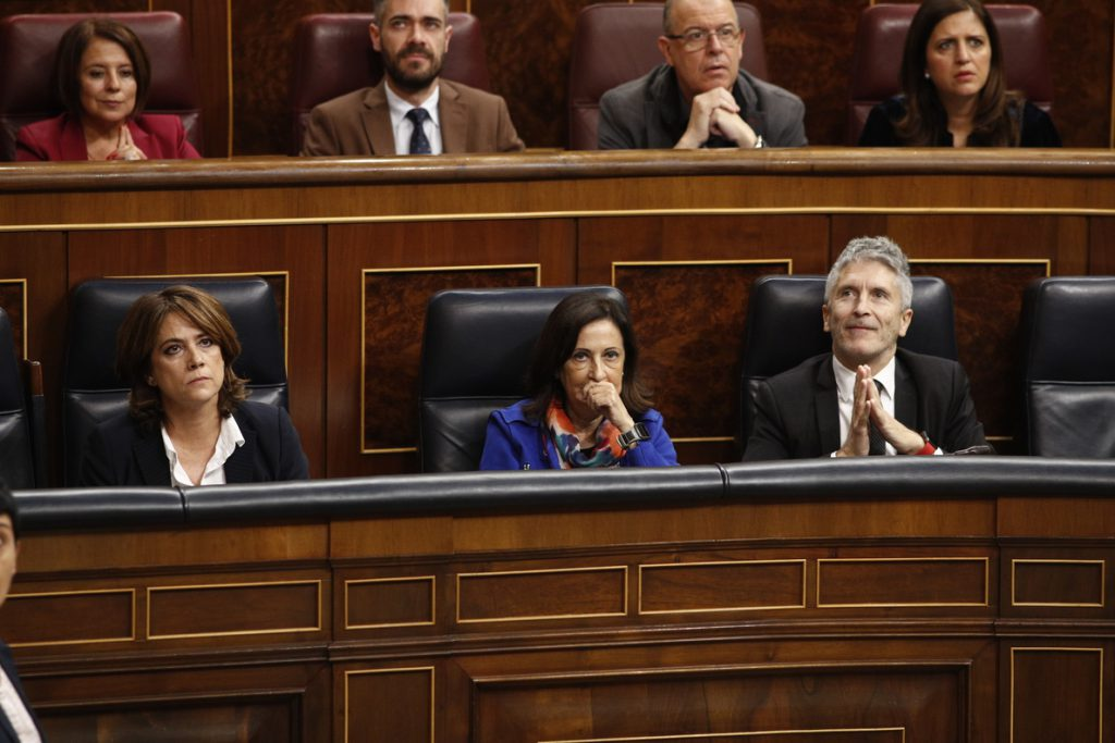El PSOE dice que Justicia trabaja por facilitar a los juzgados la detección de vulnerabilidad en desahucios