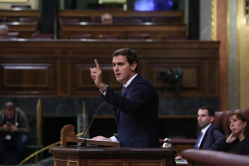 Rivera critica la «purga» de Edmundo Bal: «Sánchez pone al Estado al servicio de golpistas para seguir en Moncloa»