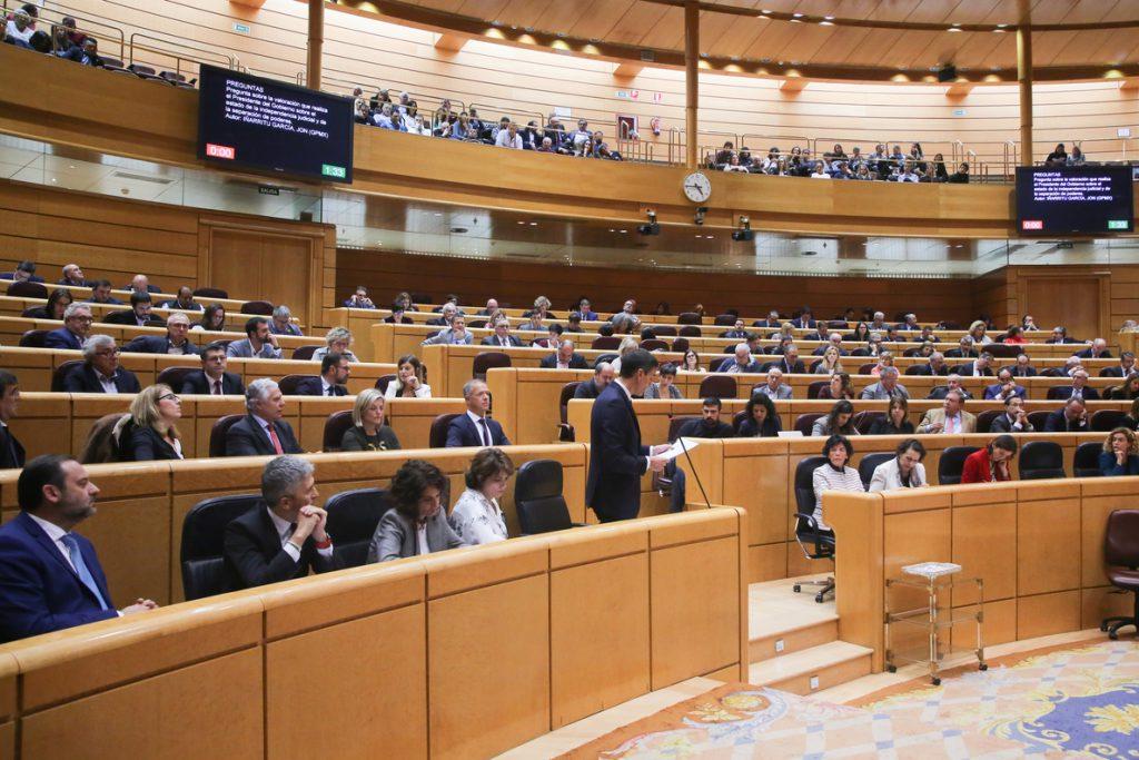 El Senado aprueba una declaración institucional en apoyo al mantenimiento de los puestos de trabajo en Alcoa