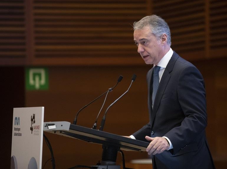 Urkullu espera que los acuerdos de transferencias tengan «continuidad» y permitan completar el Estatuto de Gernika