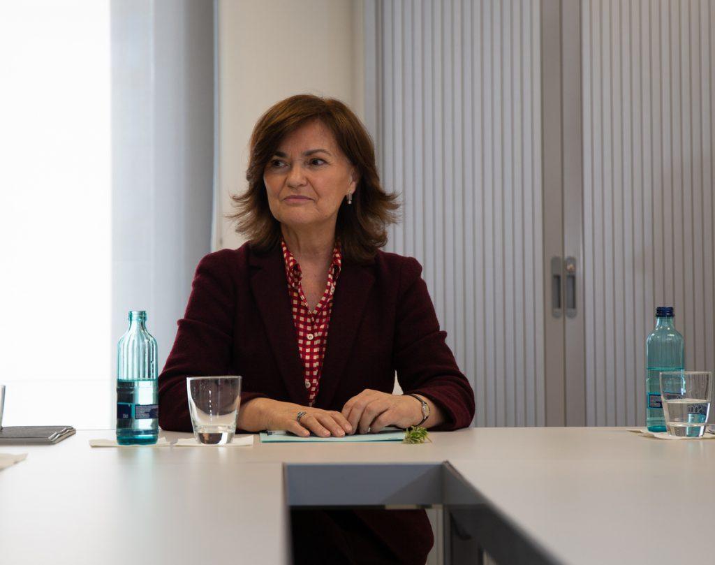 Calvo asegura que el Gobierno «se adentrará en las próximas semanas en una meta importante»: «Sacar a Franco del Valle»