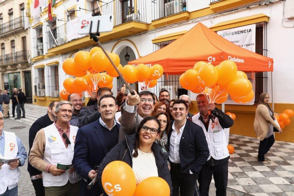 Ciudadanos propone a los andaluces ser protagonistas de nuevos carteles de campaña, que se presentarán este domingo