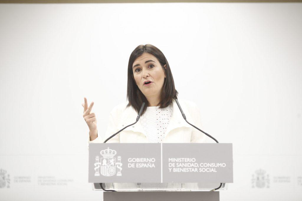La Fiscalía pide a la juez que archive la causa contra la exministra de Sanidad Carmen Montón