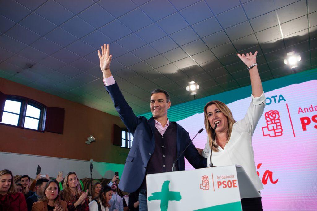 Pedro Sánchez volverá a participar el próximo martes junto a Susana Díaz en la campaña en un mitin en Marbella