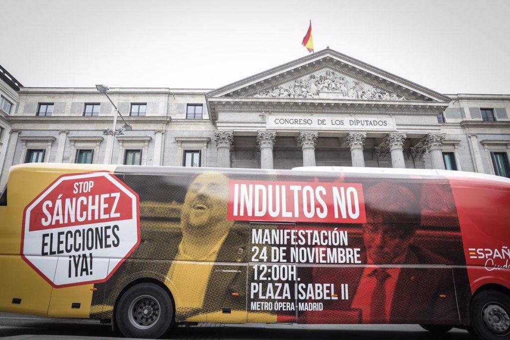 Rivera y el exfiscal Ignacio Gordillo lideran la concentración del sábado en Madrid contra indultos a independentistas