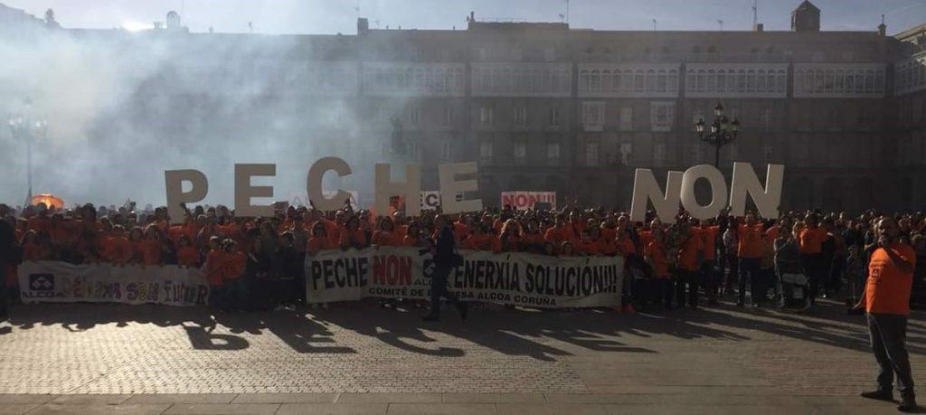 La Xunta pide una «rectificación» a Alcoa y al Gobierno para «desbloquear» la situación
