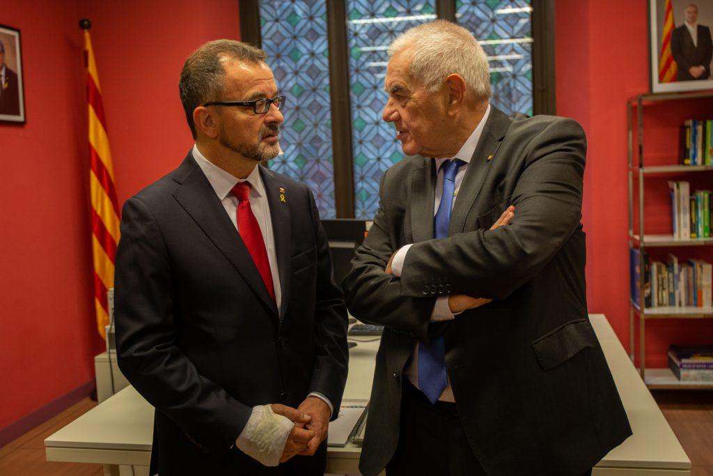 Bosch visitará este lunes a Romeva en la cárcel en su primera reunión como conseller
