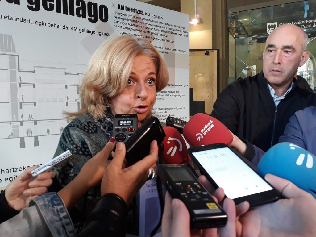 Consuelo Ordóñez denuncia que el PNV quiere ser «carcelero» para «beneficiar a los asesinos» de las víctimas de ETA