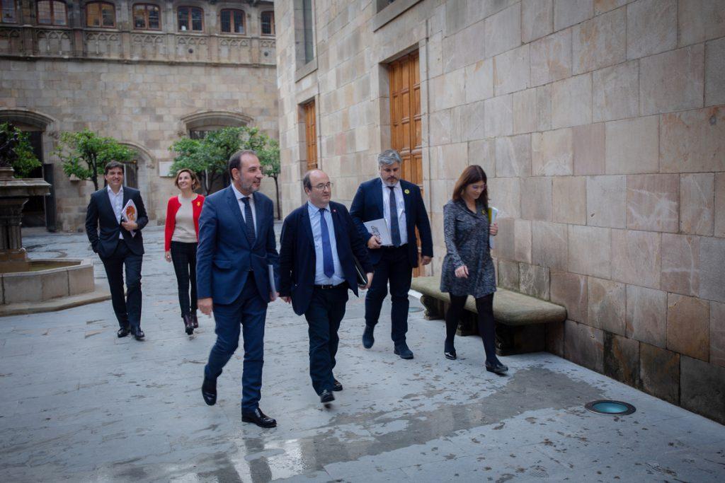 Iceta no ve posible la cumbre Gobierno-Govern: «Hace cuatro días Torra retiraba la confianza a Sánchez»