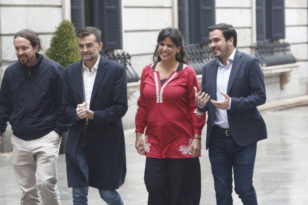 Iglesias y Garzón debutan el sábado en campaña con Rodríguez y Maíllo en Sevilla, con 3.000 entradas ya retiradas