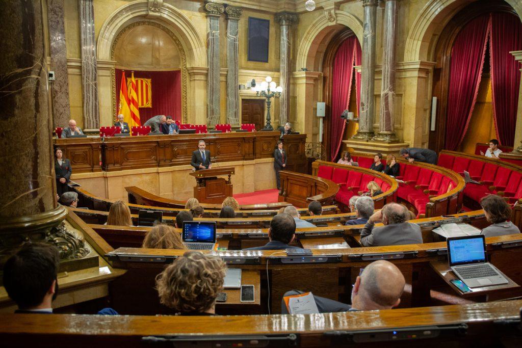 JxCat, ERC, 'comuns' y CUP registran la comisión de investigación en el Parlamento catalán sobre la Casa Real