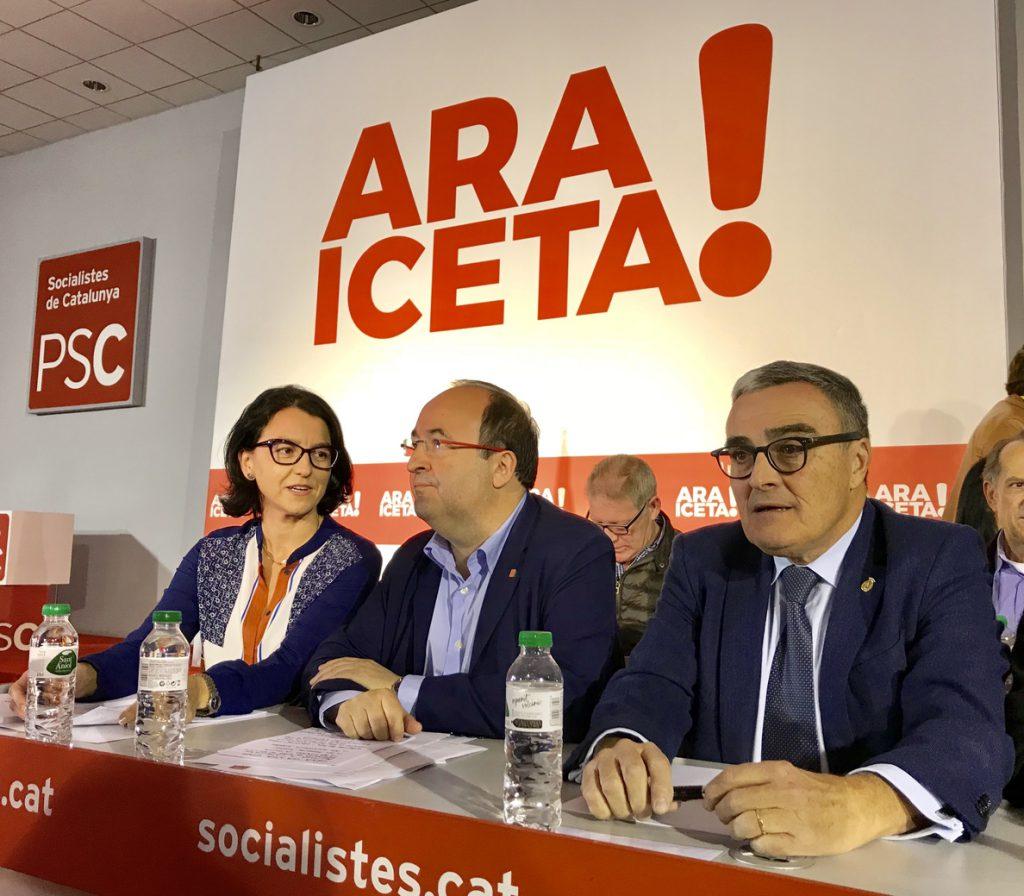 El PSC pide la comparecencia de la interventora de la Generalitat en la comisión del 155 en el Parlamento catalán
