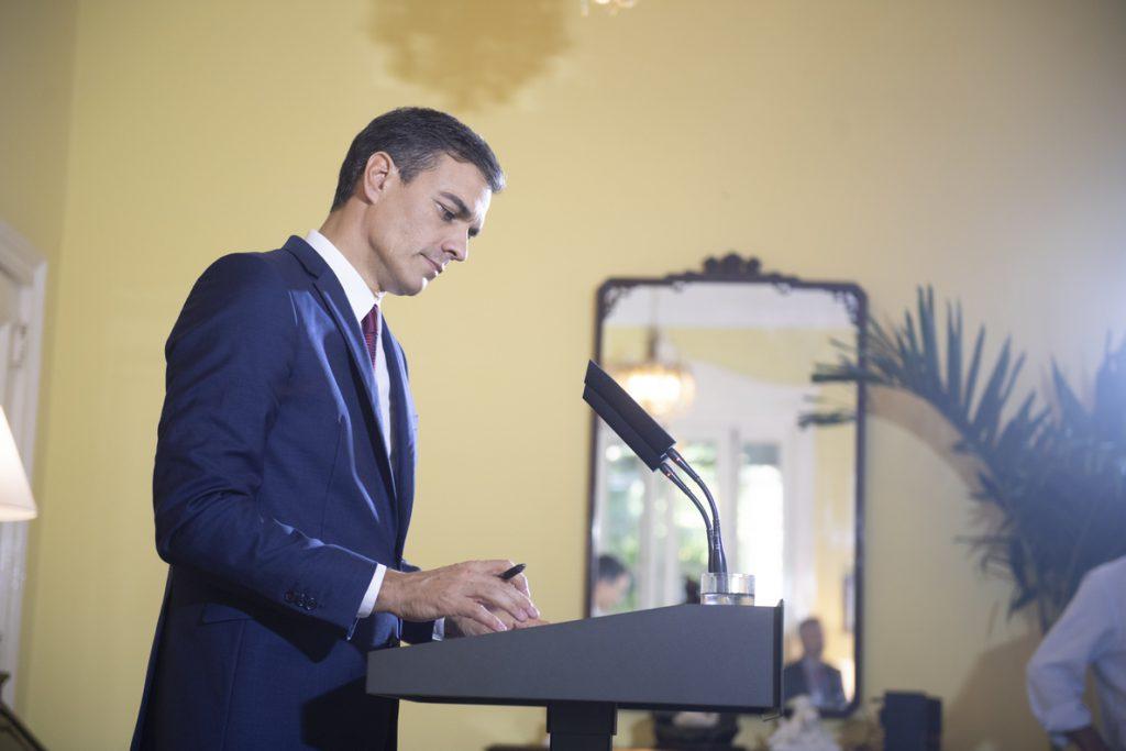 Sánchez, satisfecho de haber «roto el hielo» con Cuba, espera una visita de los Reyes en 2019
