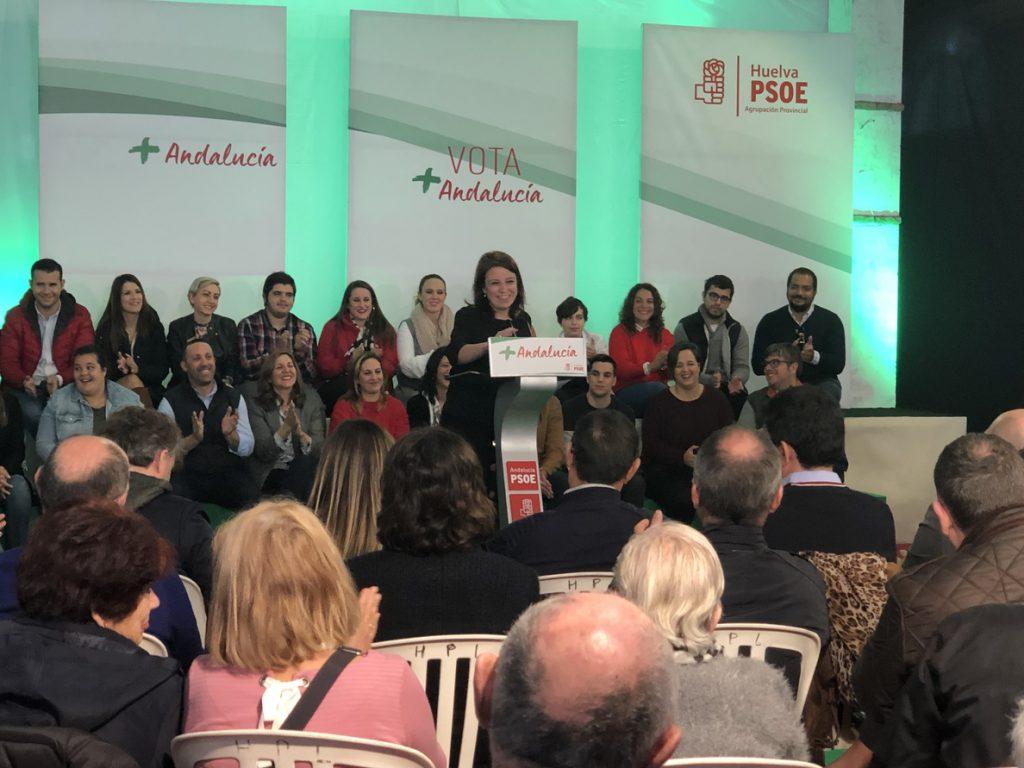 Lastra (PSOE) asegura que Andalucía será «el motor de este país con Sánchez en Moncloa y Díaz en San Telmo»