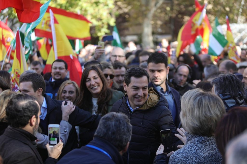 Moreno ve «incoherente» que Marín pase de «perro de compañía» del PSOE a «perro de presa» en campaña