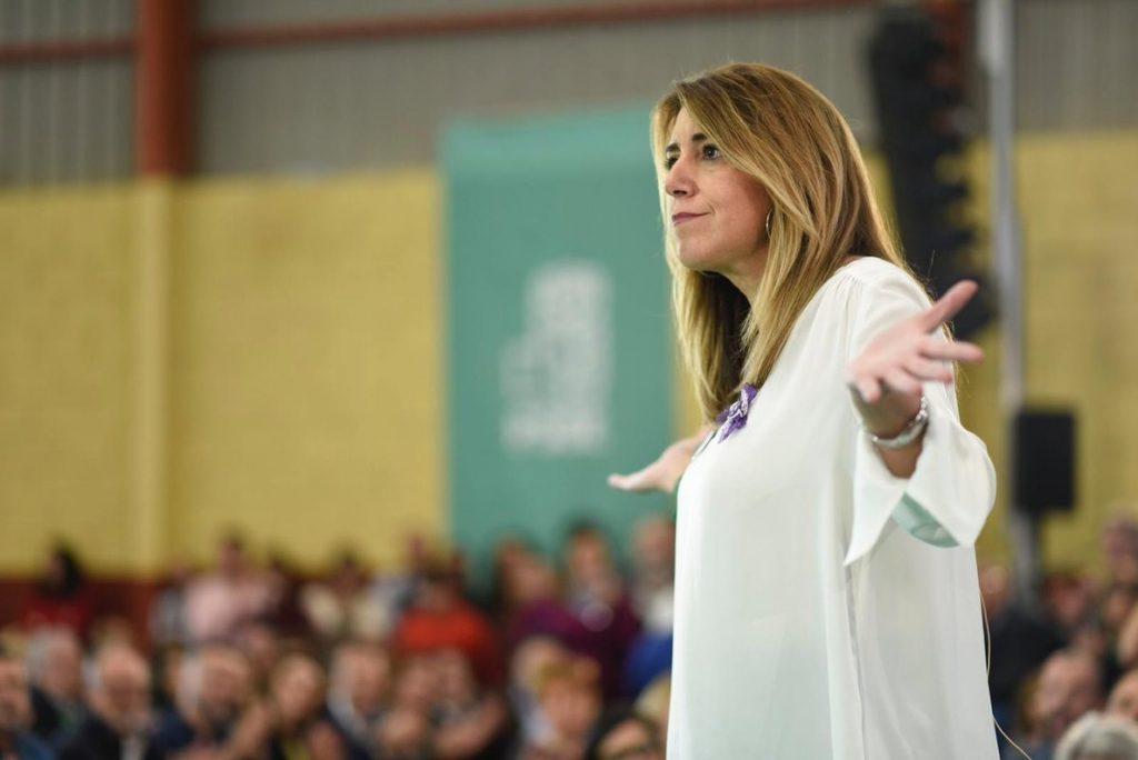 Susana Díaz acusa a Casado de querer «mutilar la autonomía» planteando «retirada» de competencias en educación