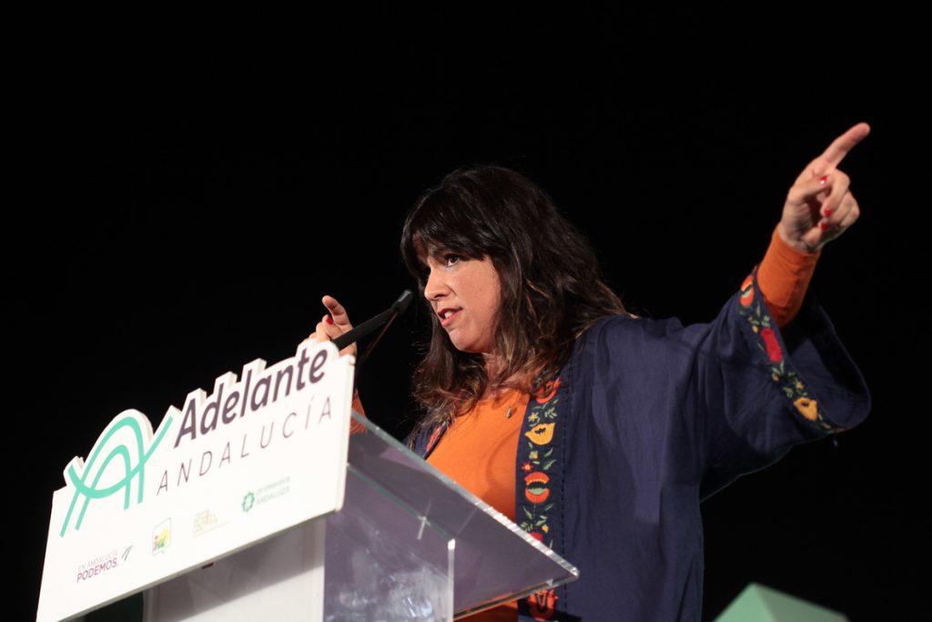 Teresa Rodríguez se reivindica como alternativa a Susana Díaz: «Vamos los segundos y podemos ser los primeros»