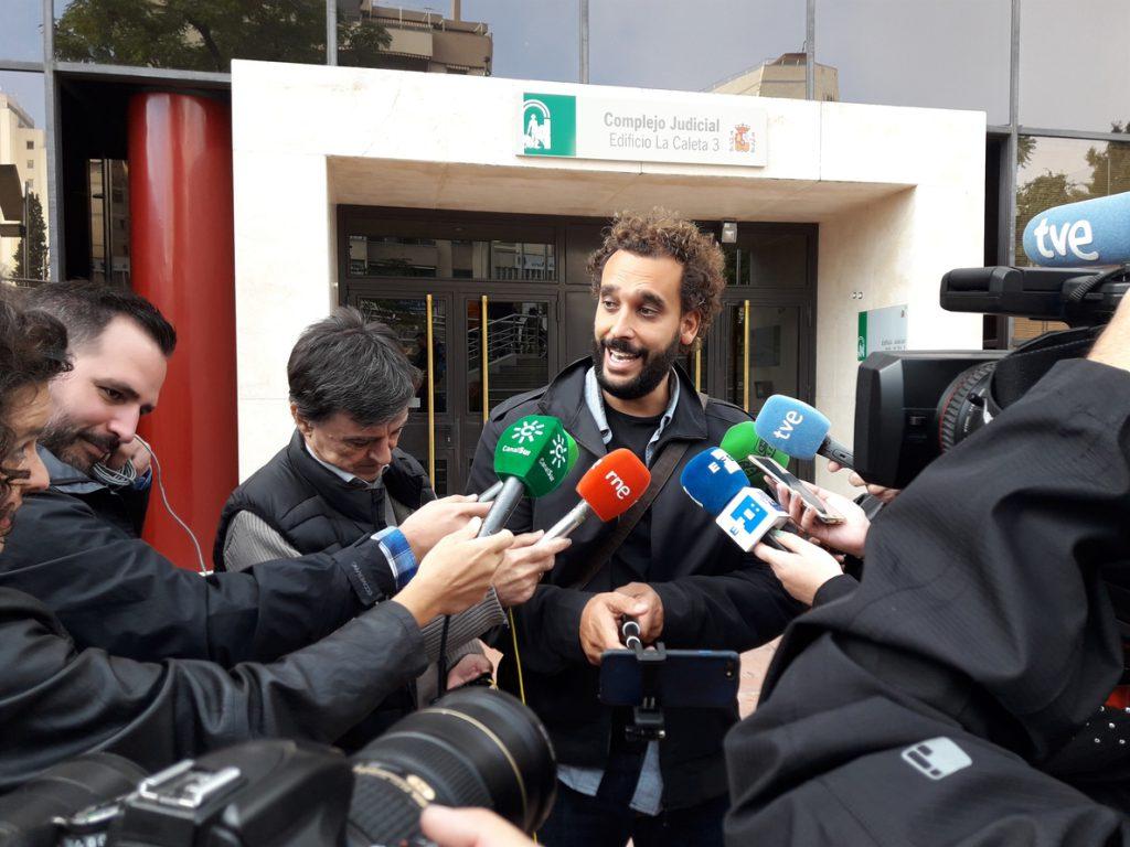 Un juzgado de Granada incoa diligencias tras la denuncia de un magistrado contra 'Spiriman' por amenazas