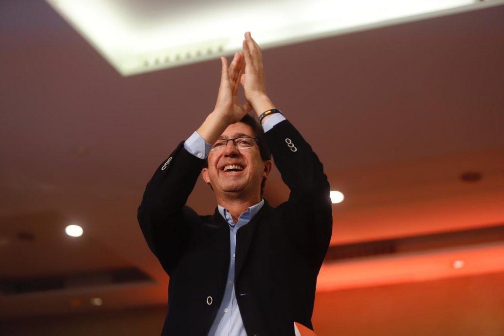 Marín, al PP y PSOE: «Le vamos a dar una paliza al conformismo y al victimismo. Somos el equipo revelación»