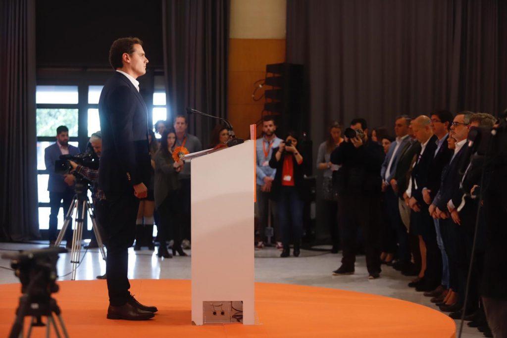 Rivera pide poner «de una vez por todas» en marcha el Pacto de Estado contra Violencia de Género y reclama «soluciones»