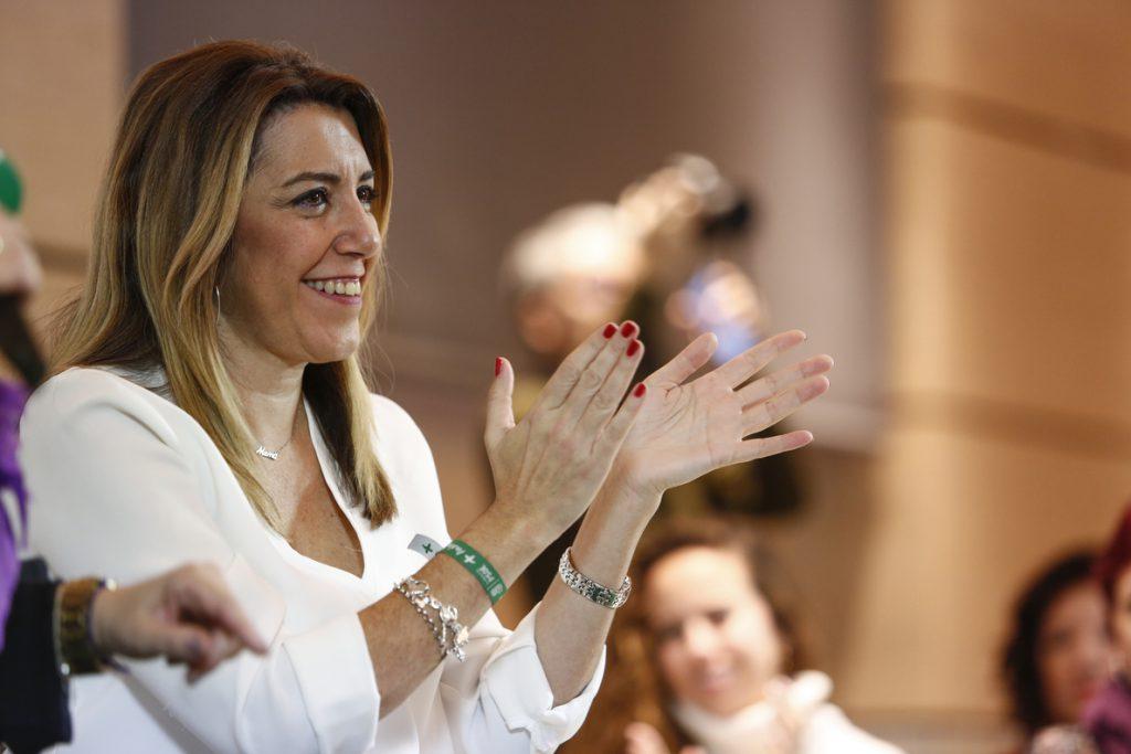 Susana Díaz agradece a Sánchez su compromiso en defensa de intereses de Campo de Gibraltar ante acuerdo de Brexit