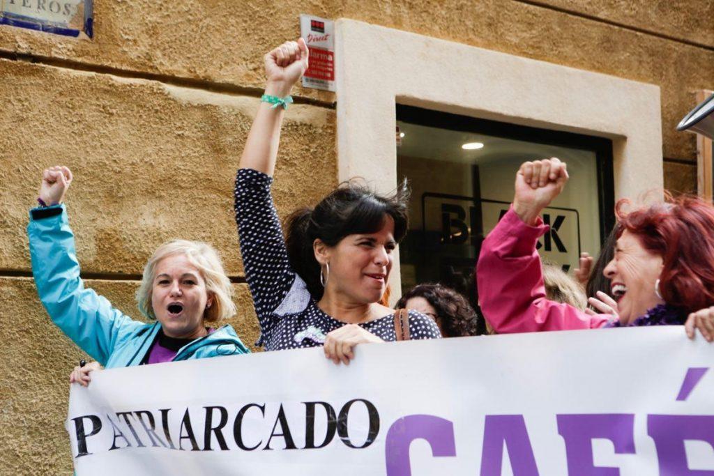 Teresa Rodríguez: «El feminismo será la barrera de contención a la extrema derecha en Andalucía»