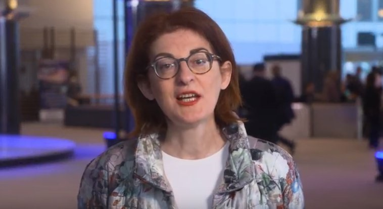 La eurodiputada Maite Pagazaurtundúa expresa en un vídeo su apoyo a la candidatura de UPyD
