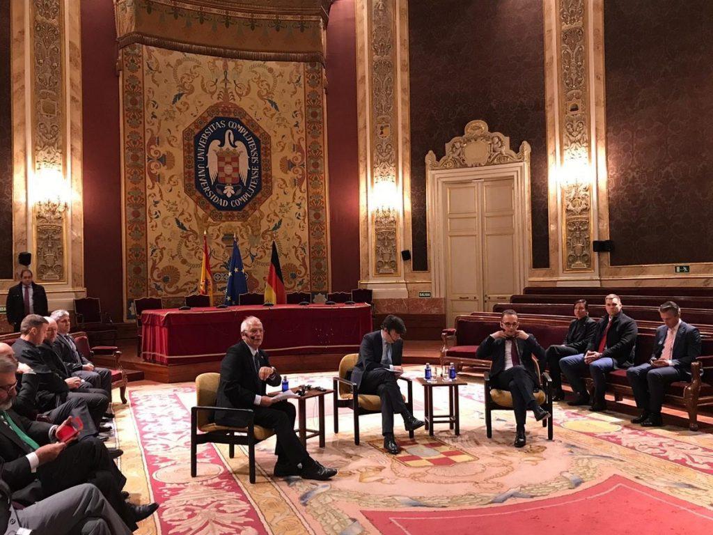 Borrell responde a May que España ha conseguido lo que quería sobre Gibraltar: «Blanco sobre negro»