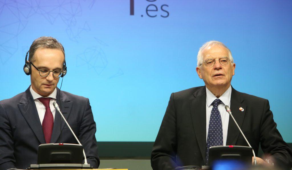Maas invita a España a unirse a Alemania y Francia para impulsar la UE y Borrell «recoge el guante»