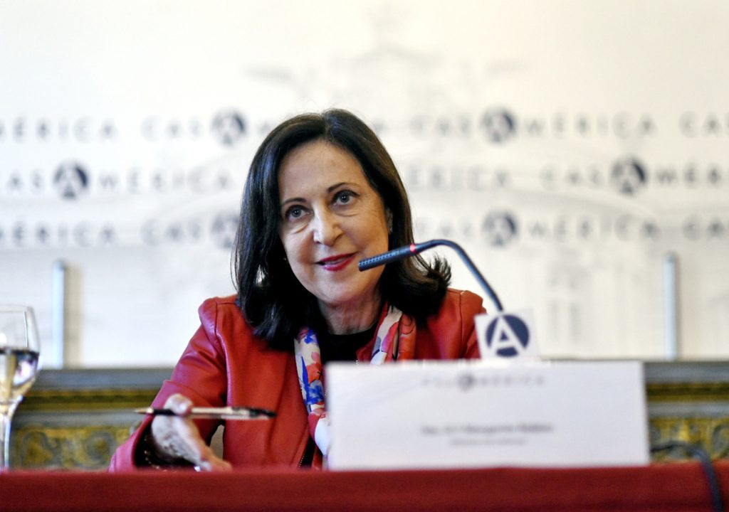 España aspira a ser el primer país con chaleco adaptado a la morfología femenina en sus Fuerzas Armadas