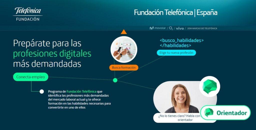 Fundación Telefónica recurre a la Inteligencia Artificial para impulsar los nuevos empleos digitales