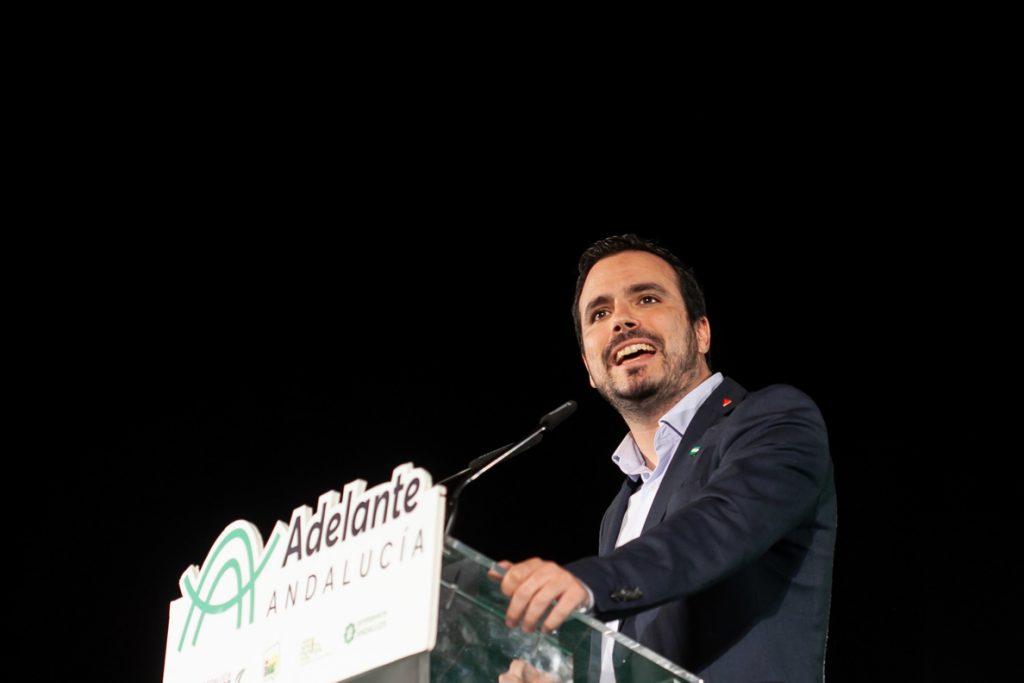 Garzón (IU) pide que Sánchez detalle al Congreso su acuerdo sobre Gibraltar