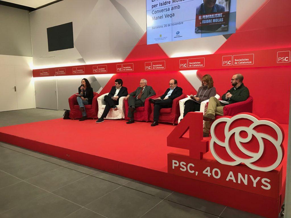 Iceta defiende el federalismo frente a los que tratan de «imponer» la idea de un solo pueblo